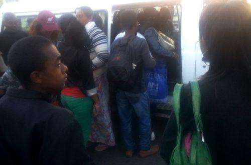 Article : Le taxibe, un mal nécessaire pour se déplacer à Tana